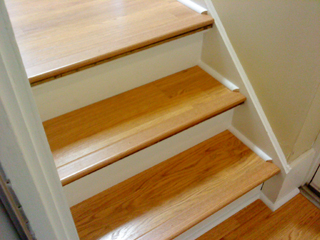 Laminate Flooring On Stairs Trim