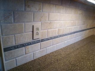 alfa img showing travertine tile backsplash grout