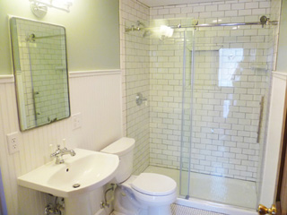 Old Bathroom Remodel Inspired Remodeling & Tile  Bloomington Indiana & Surrounding .