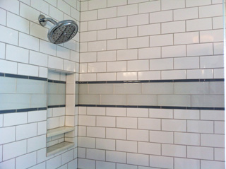 New Bathroom With Subway Tile