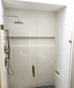 ContemporaryWhiteShowerBase