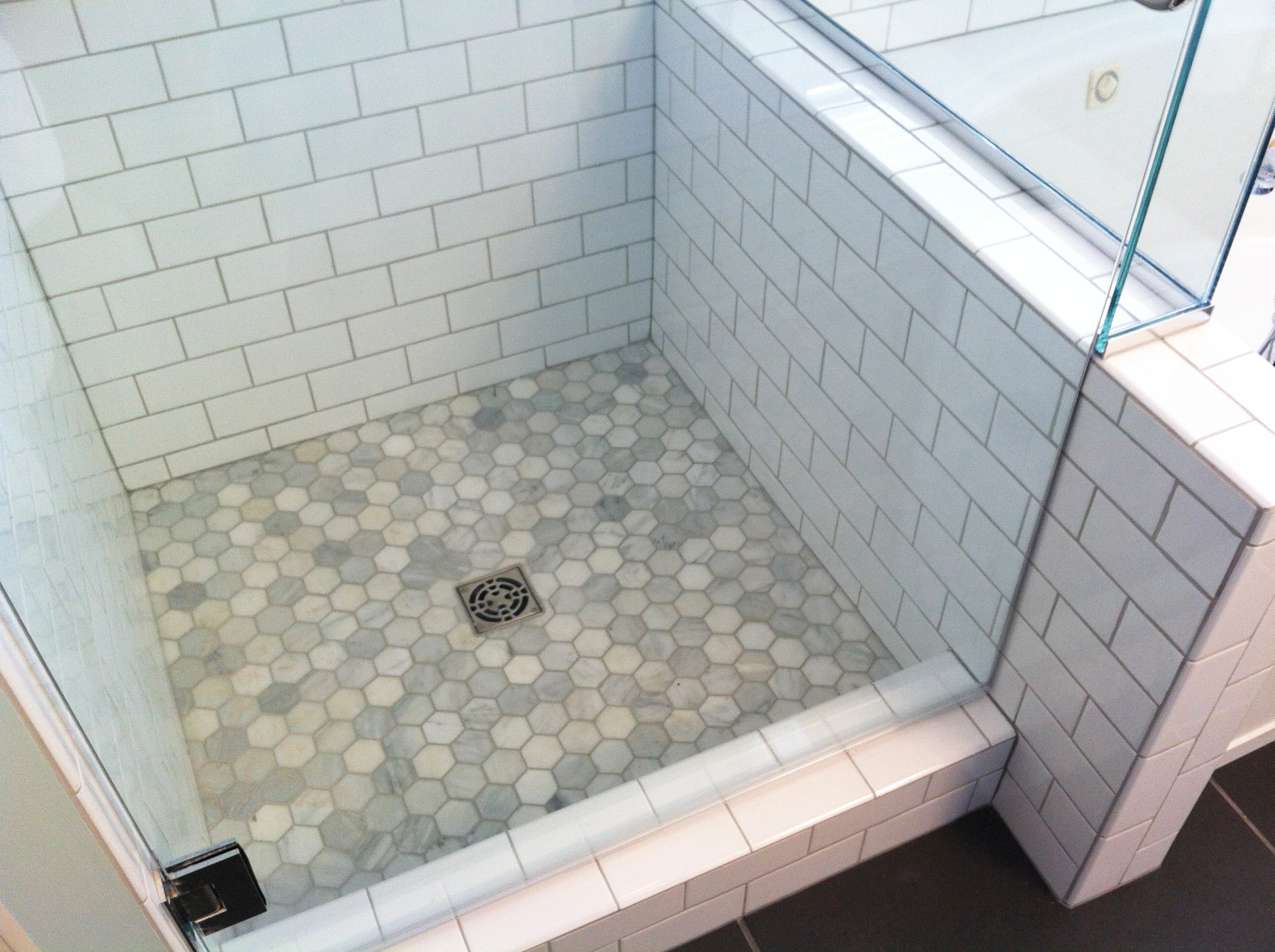 Shower Floor Tiles Which Why And How: Inspired Remodeling & Tile