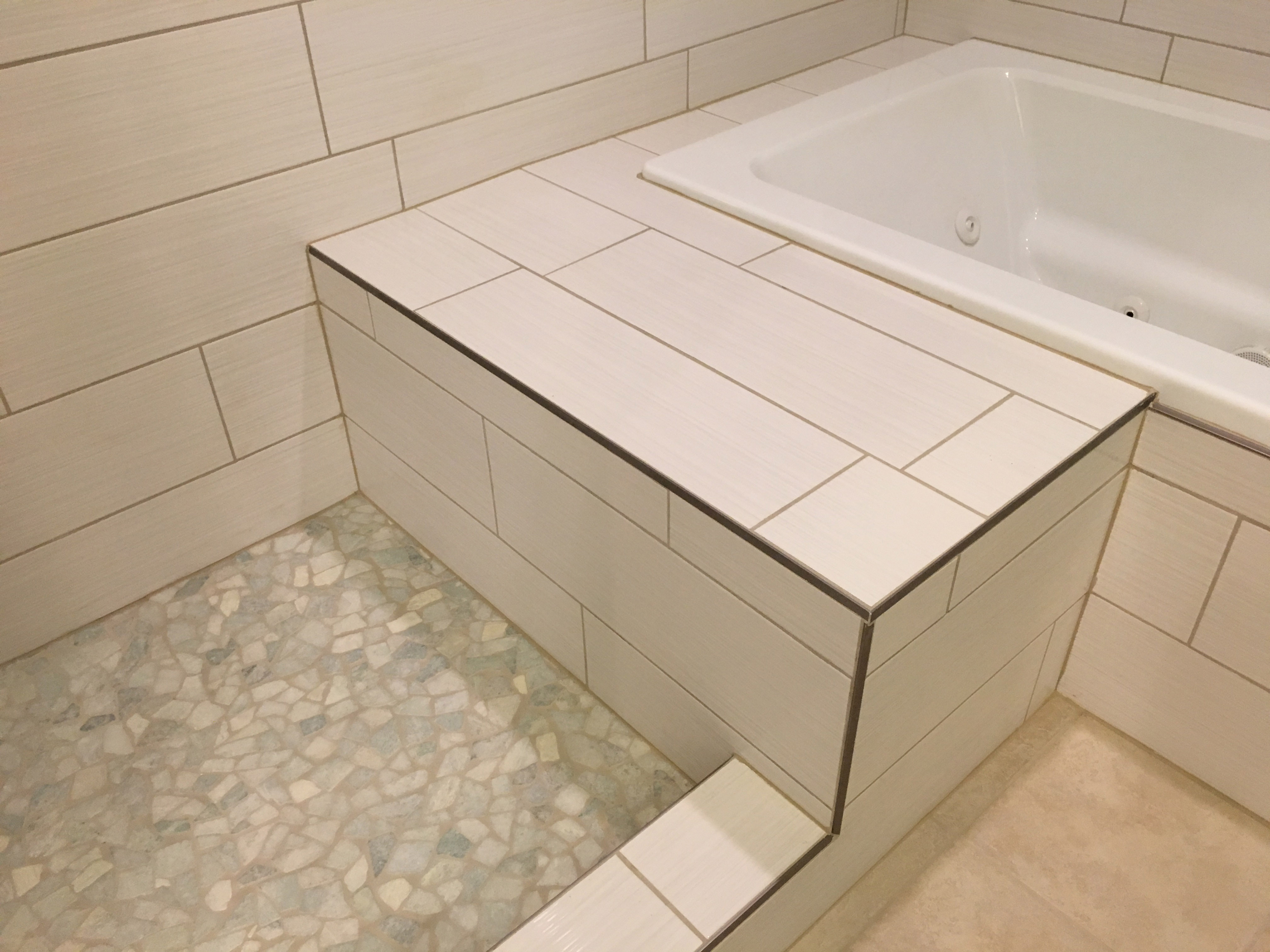 Inspired Remodeling Tile Sullivan Terre Haute Indiana Surrounding Areas Peter Bales Bathroom Remodeling Tile Shower Installation Contractor Bench Seat From Bathroom With Staggered Tile
