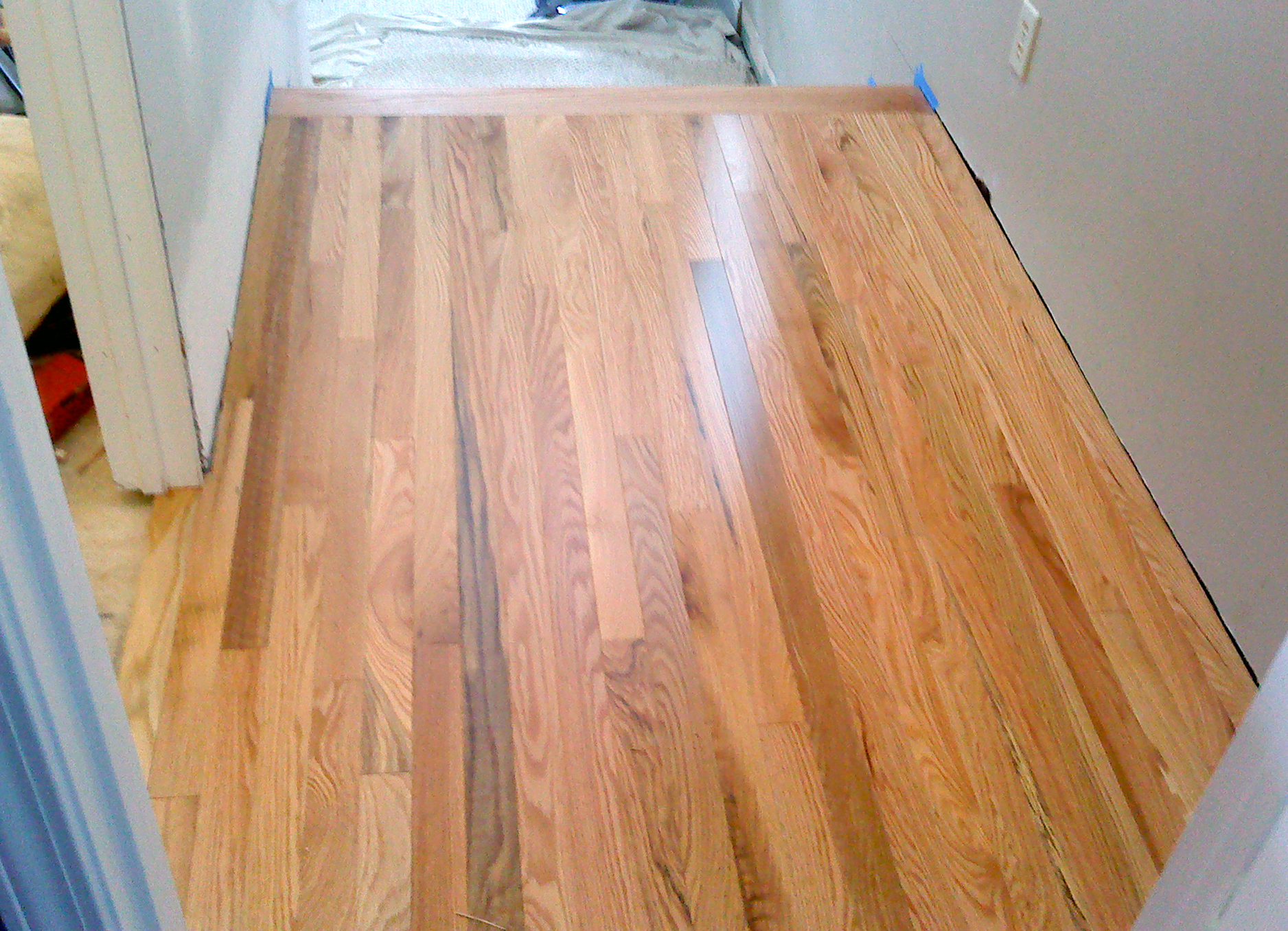 How much should i charge to install prefinished hardwood for Unfinished hardwood flooring vs prefinished