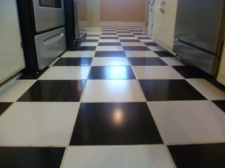 Black And White Checkered Ceramic Floor Tile Wikizie Co